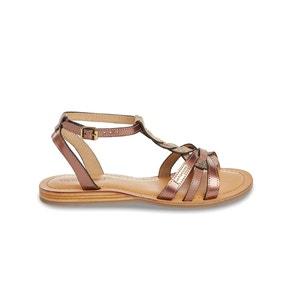 Platte sandalen in leer Hams LES TROPEZIENNES PAR M.BELARBI