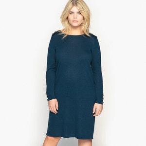 Halflange trui-jurk met lange mouwen CASTALUNA