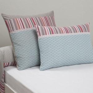 METISMIX Printed Cotton Single Pillowcase La Redoute Interieurs