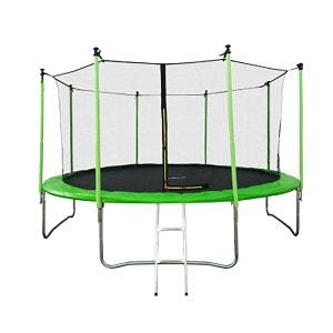 Trampoline JUMP4FUN 13FT - 400cm - Vert Pomme JUMP4FUN