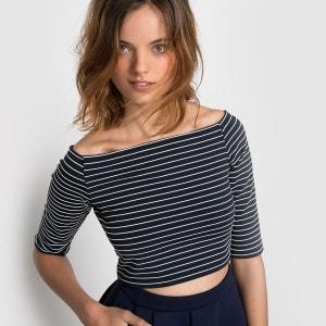 T-shirt rayé MADEMOISELLE R
