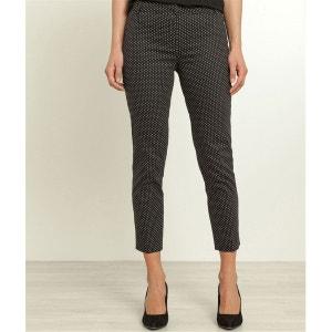 Pantalon satin de coton imprimé GRAIN DE MALICE