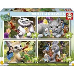 Puzzle évolutif 50 à 150 pièces : Disney Fairies EDUCA