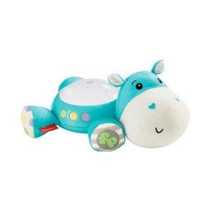 FISHER PRICE La peluche musicale avec projecteur Hippo peluche peluche FISHER PRICE