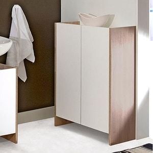 Meuble bas de salle de bain, 2 portes, Banero La Redoute Interieurs