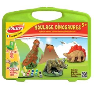 Mallette de loisirs créatifs : Moulage dinosaures JOUSTRA