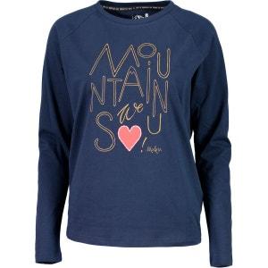 TinettaM. - T-shirt manches longues Femme - bleu MALOJA