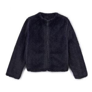 Manteau en fausse fourrure 3-12 ans La Redoute Collections