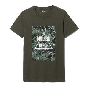 T-shirt  z nadrukiem z czystej bawełny La Redoute Collections