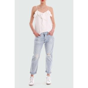 Jeans Tapered Leg 501 Ct Customized Levi's Bleu Use Destroy LEVI'S