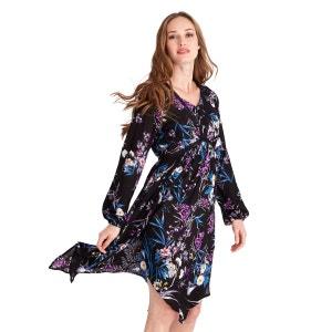 Robe style bohème à manches longues avec imprimés floraux pour femme JOE BROWNS