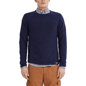 Sweter z okrągłym dekoltem ESPRIT