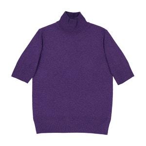 Пуловер с воротником, 100% кашемир La Redoute Collections