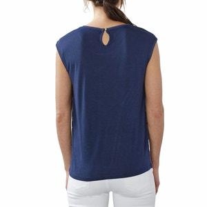 Sleeveless Printed T-Shirt ESPRIT
