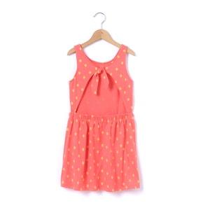 Платье без рукавов с рисунком и открытой спинкой 3-12 лет La Redoute Collections