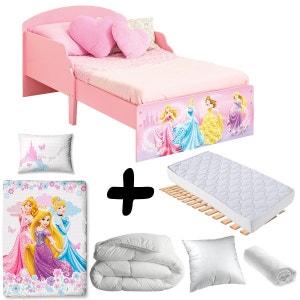 Pack complet Premium Lit cosy Princesse Disney = Lit+Matelas & Parure+Couette+Oreiller DELTA
