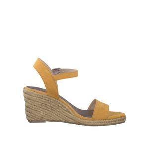 Sandalen met sleehak 28300-28 TAMARIS