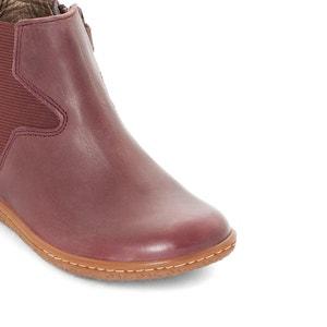 Boots cuir VERMILLON KICKERS