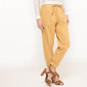 Plain Wide Leg Joggers La Redoute Collections