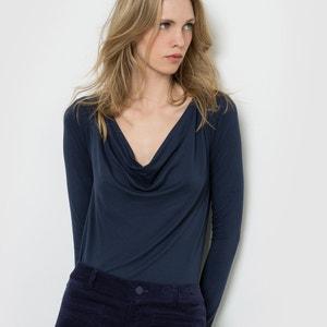 Long-Sleeve Cowl Neck T-Shirt R édition