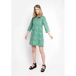 Korte jurk met 3/4 mouwen COMPANIA FANTASTICA