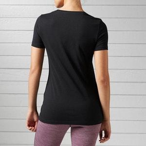 Linear Read Scoop Neck T-Shirt REEBOK