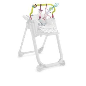 Kit chaise polly progress (barre de jeu+reducteur) 0+ CHICCO