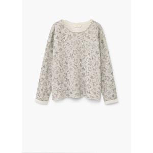 Sweat-shirt coton étoiles MANGO KIDS