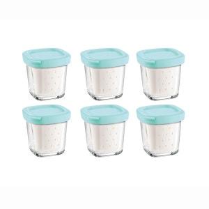 Délices box XF100101 (6 pots yaourt avec égouttoir SEB