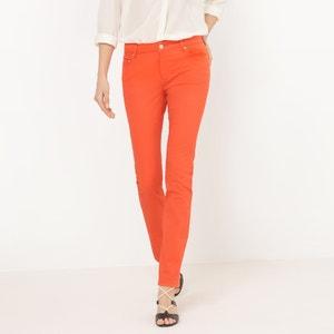 Pantalon 5 poches, coupe droite R essentiel