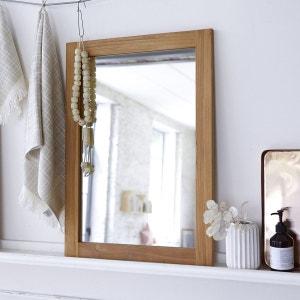 Miroir en bois de Teck Bahya Solo 70x50 TIKAMOON