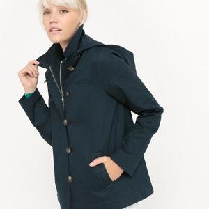 Krótki płaszcz z kapturem R essentiel