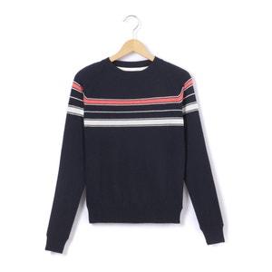 Pullover, gestreift, verkürzte Form, 10–16 Jahre R essentiel