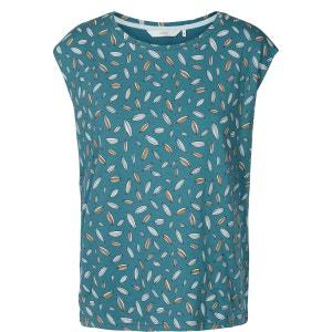 Tee shirt col rond imprimé, manches courtes NUMPH