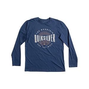 T-shirt a maniche lunghe QUIKSILVER