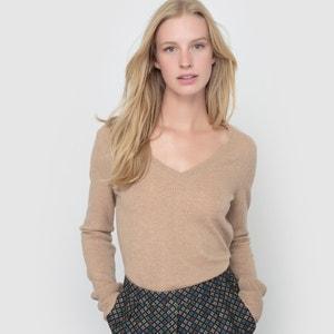 Cashmere V-Neck Jumper/Sweater R essentiel
