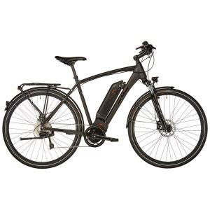 Luzern - Vélo de trekking électrique - noir ORTLER