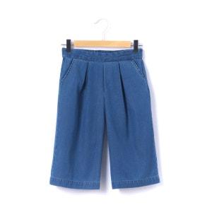 Jupe-culotte en jean 3-12 ans La Redoute Collections