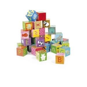 Puzzle cubes 32 cubes : Kubkid L'alphabet JANOD