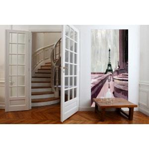panneau dcoratif en tissu trocadro fixer sans support en bois mademoiselle tiss - Panneau De Bois Decoratif Interieur