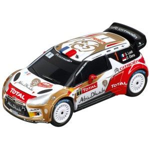 Voiture pour circuit Carrera Go : Citroën DS3 WRC Citroën Total Abu Dhabi, N°1 CARRERA