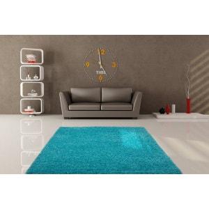 tapis salon bleu la redoute. Black Bedroom Furniture Sets. Home Design Ideas