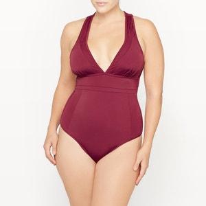 Swimsuit with Plunge Neckline CASTALUNA