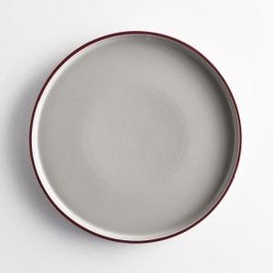 Assiette plate céramique (lot de 4) DRISKOL La Redoute Interieurs