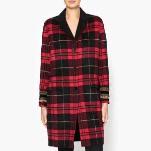 Manteau long à carreaux THE KOOPLES
