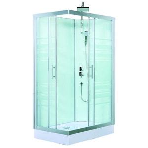 Cabine de douche Trend avec portes coulissantes HOME BAIN