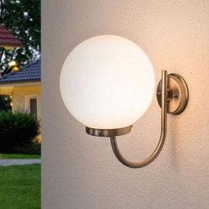 Luminaire boule verre la redoute for Applique boule exterieur