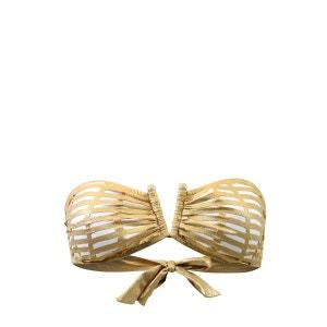Maillot de bain Bandeau Ouro Doré VAL D AZUR