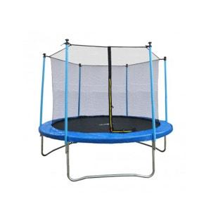 Trampoline JUMP4FUN 10FT - 305cm - Bleu JUMP4FUN