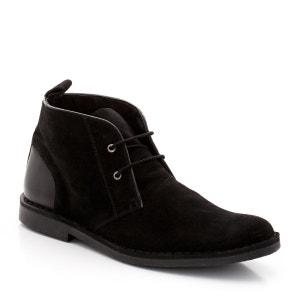 Sapatos estilo derbies em pele (croute) TAILLISSIME